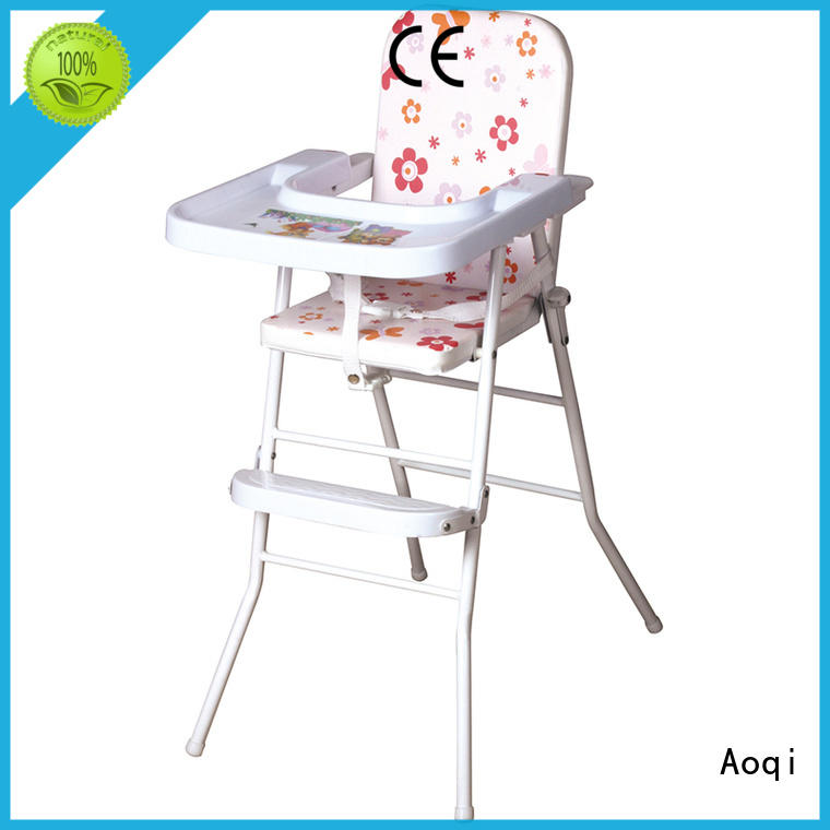 folding baby high chair directly sale for livingroom Aoqi