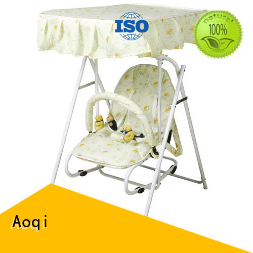 swing portable toys adjustable Aoqi Brand cheap baby swings for sale supplier