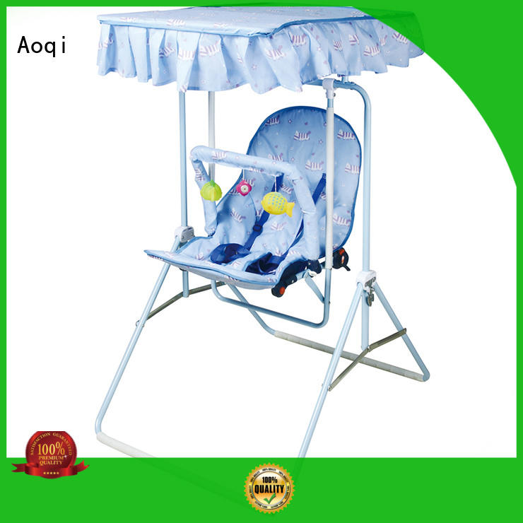 Aoqi standard best compact baby swing with good price for household