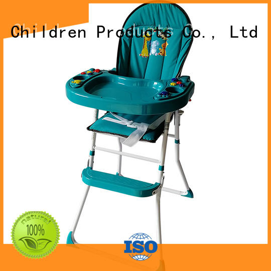 Aoqi folding baby high chair customized for livingroom