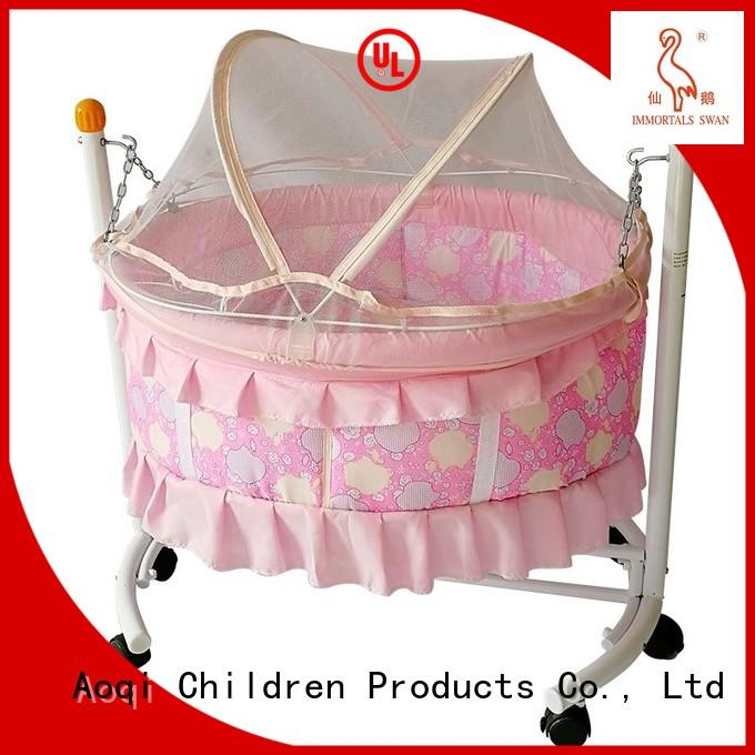 multifunctional iron baby OEM baby crib online Aoqi