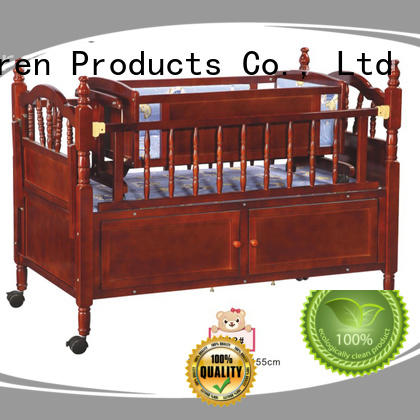 baby cots and cribs wooden furniture multifunctional Warranty Aoqi