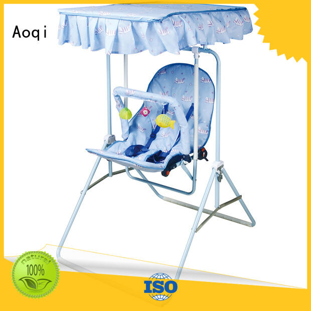 Aoqi durable baby musical swing chair factory for babys room