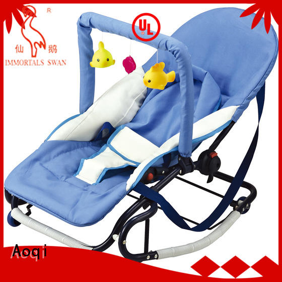 Wholesale hanging safe baby bouncer and rocker Aoqi Brand