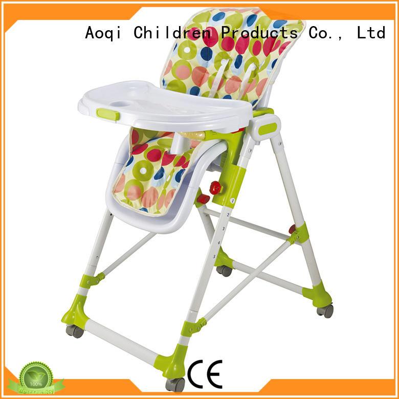 Aoqi cheap baby high chair manufacturer for home