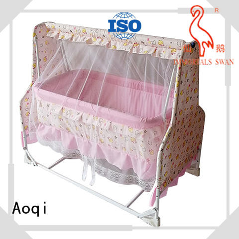 Aoqi baby cradle bed manufacturer for babys room