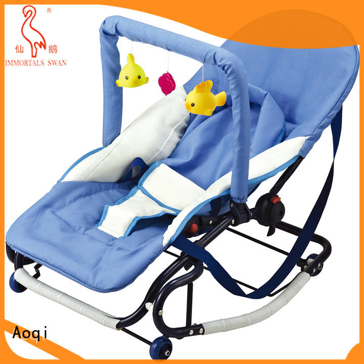 Aoqi unisex baby bouncer supplier for home