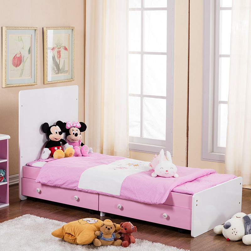 round shape baby bed with drawers with cradle for household-1