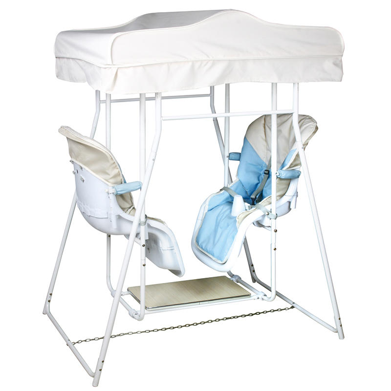 Double seat swing chair 502 with canopy