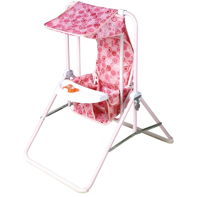 Swing chair for baby with canopy and music tray 310