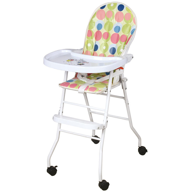 Baby chair for dining with wheels 325