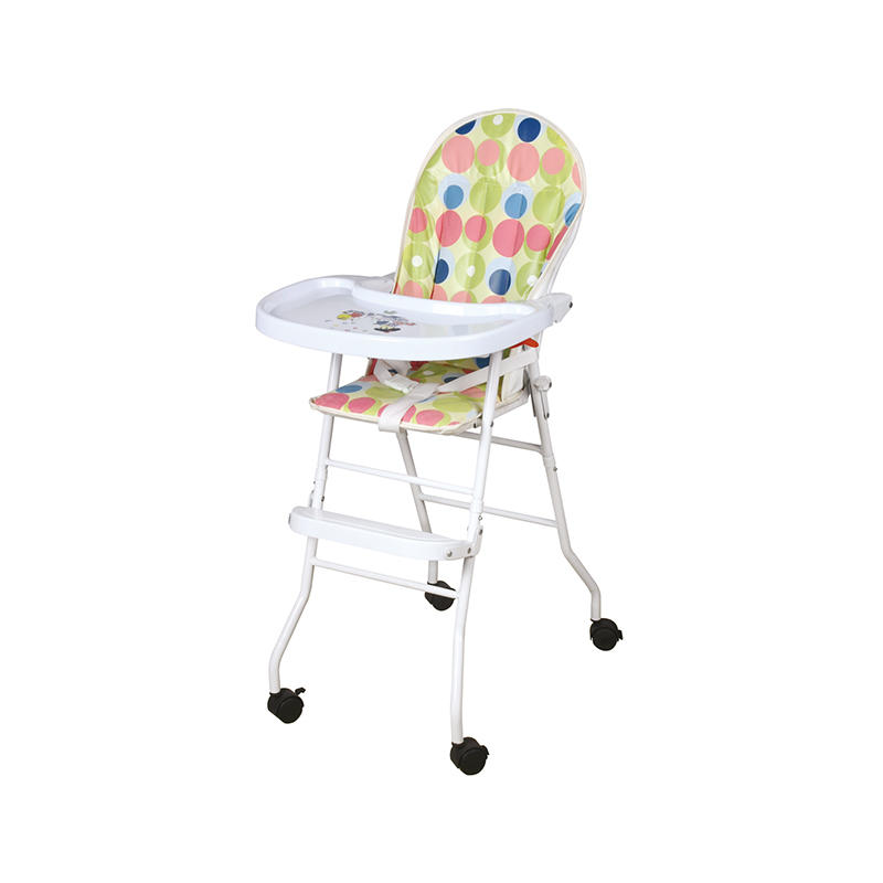 Aoqi baby high chair with wheels from China for infant-1