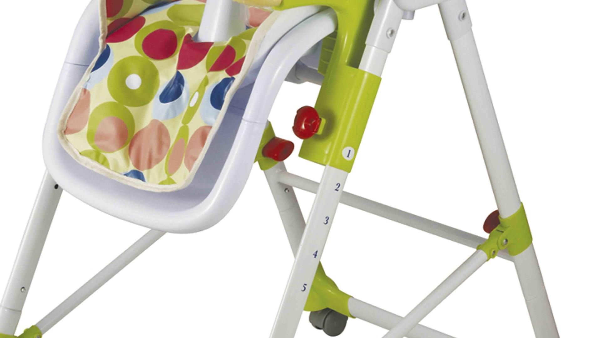 designed metal stable high chair price Aoqi manufacture