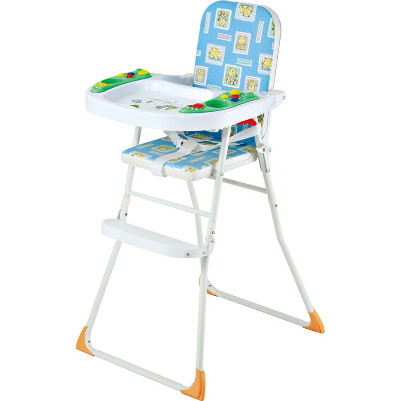Hot sale baby feeding high chair with music 323A