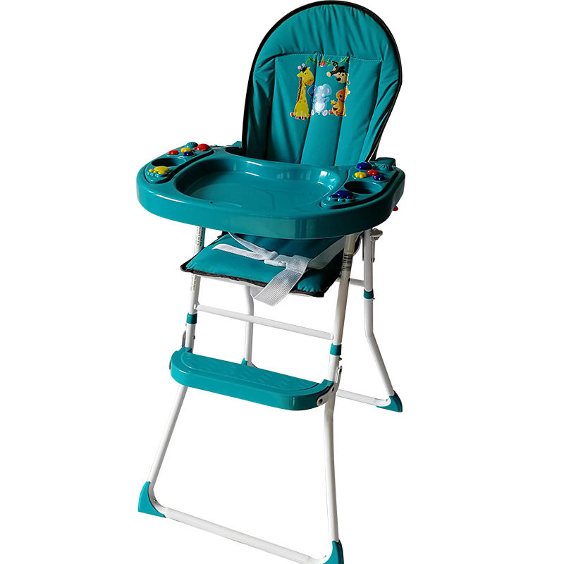 Special design baby dining high chair with music 319A