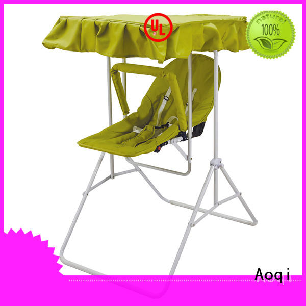 Aoqi durable upright baby swing design for babys room
