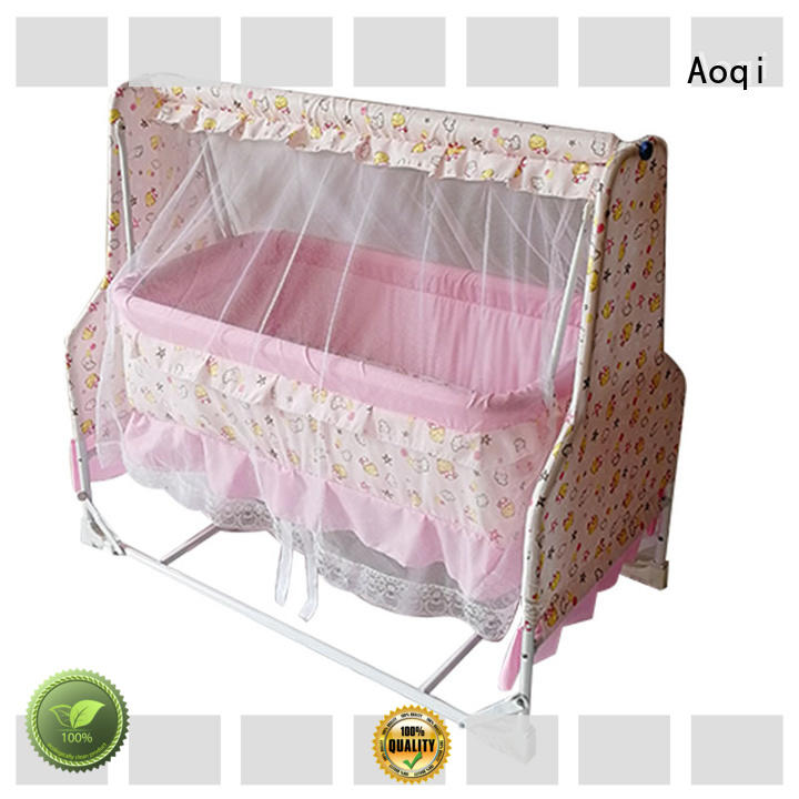 Aoqi round shape cheap baby cots for sale series for household