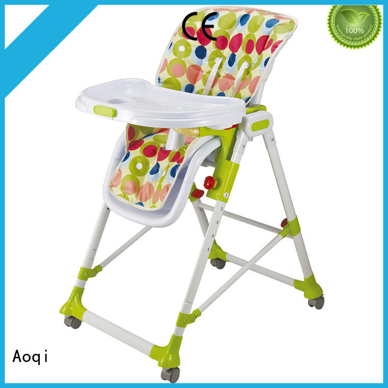 Aoqi foldable baby chair price directly sale for infant