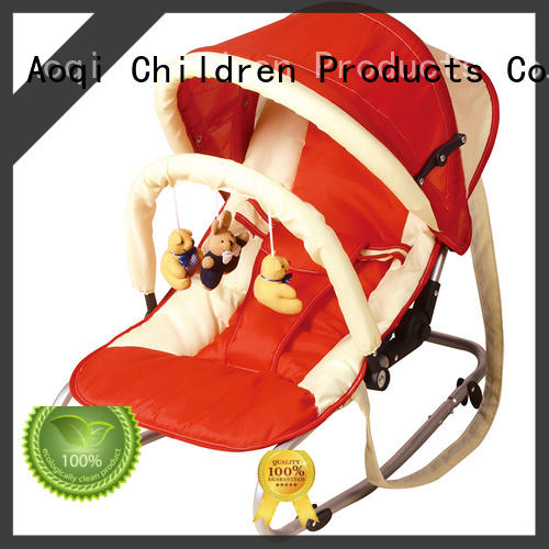 Aoqi baby boy bouncer chair personalized for home