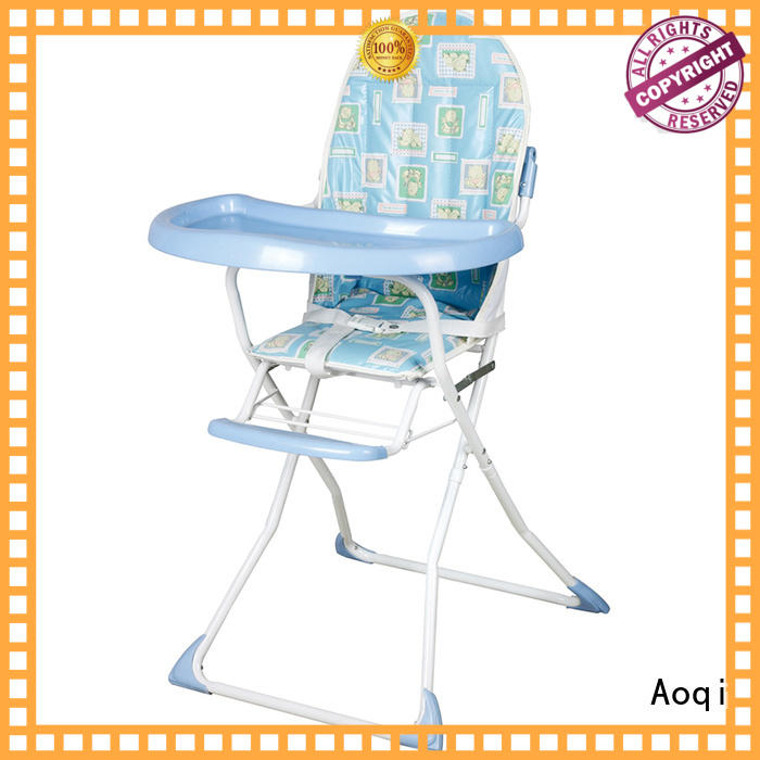 Quality Aoqi Brand metal safe child high chair