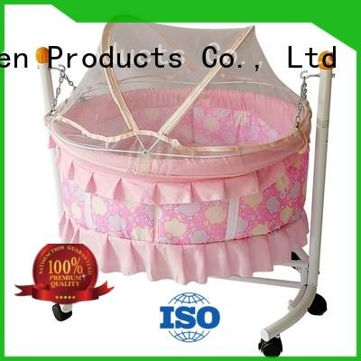 portable baby crib online with cradle for household