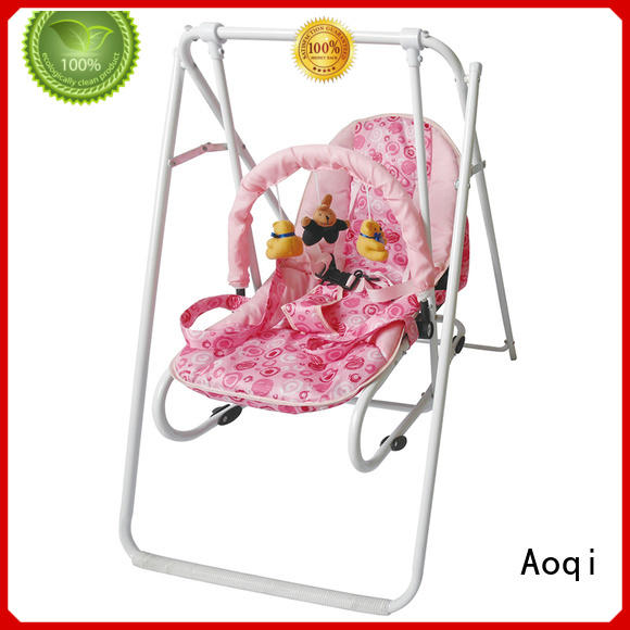double portable cheap baby swings for sale Aoqi Brand