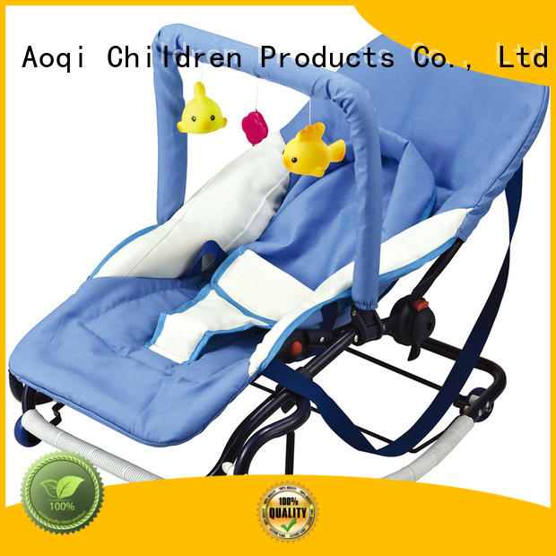 comfortable portable safe Aoqi Brand baby bouncer and rocker