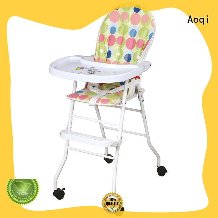 Aoqi baby feeding high chair directly sale for infant
