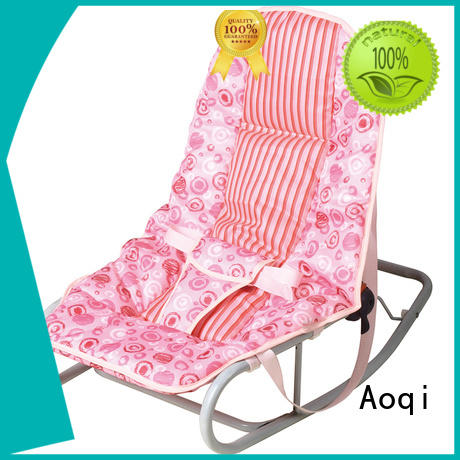 Aoqi Brand safe toys hanging baby bouncer and rocker manufacture