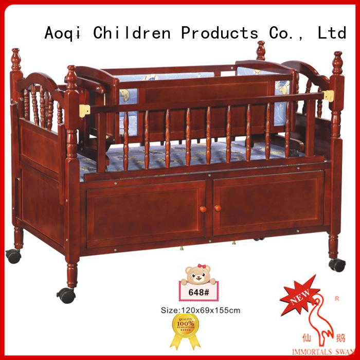kids baby crib online high quality Aoqi company