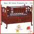 baby cots and cribs hot sale braking portable Aoqi Brand baby crib online