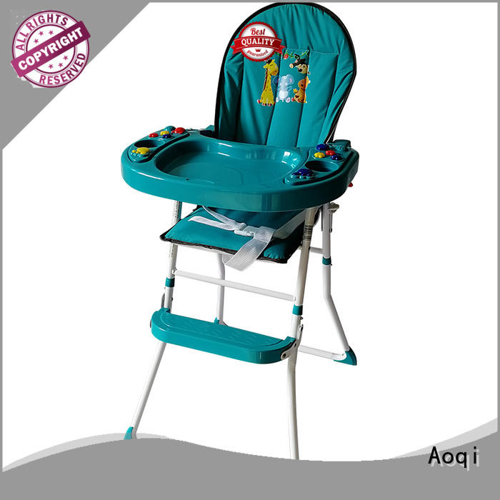 portable special high chair price safe metal Aoqi Brand