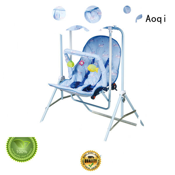 tray musical cheap baby swings for sale metal Aoqi Brand company