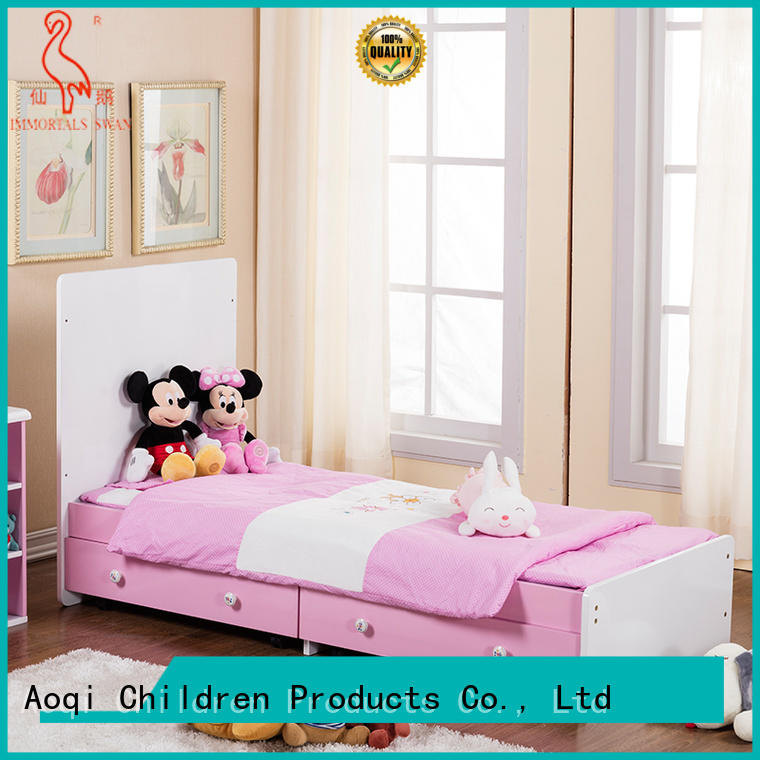 Aoqi Brand cabinet cradle multifunctional baby cots and cribs crib