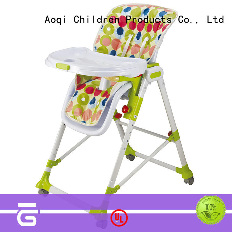 plastic foldable baby high chair directly sale for livingroom