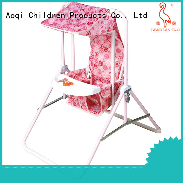 Aoqi multifunctional baby musical swing chair factory for kids