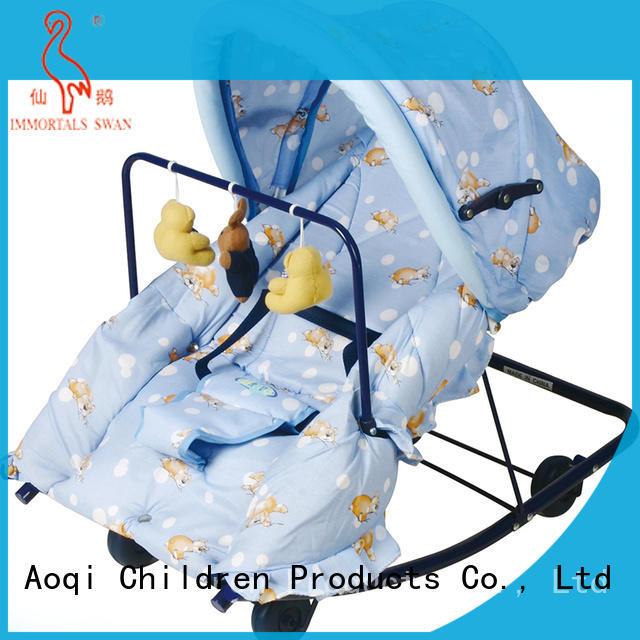 Aoqi infant rocking chair factory price for bedroom