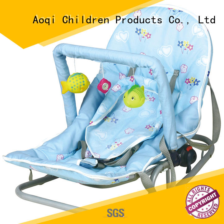high quality rocking musical baby bouncer and rocker toddler Aoqi Brand