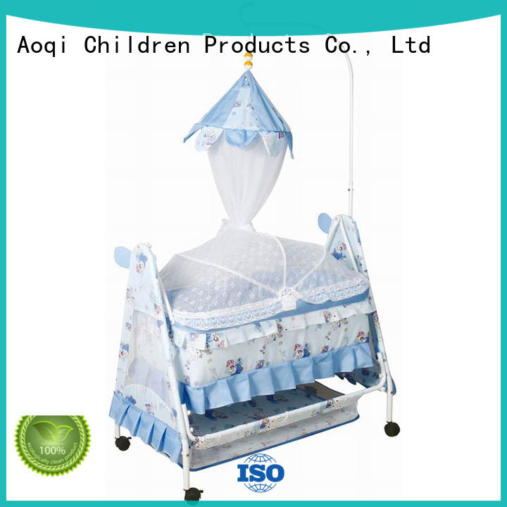 electric baby swing bed basket for kids Aoqi