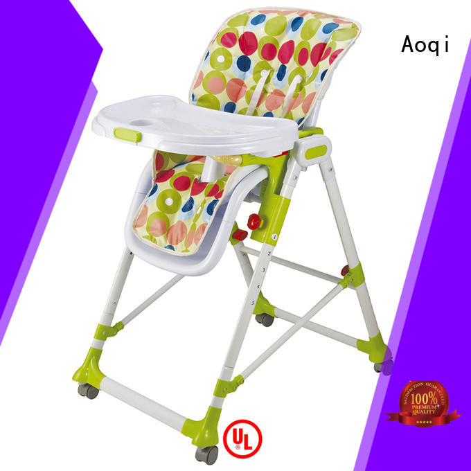 Quality Aoqi Brand high chair price baby portable