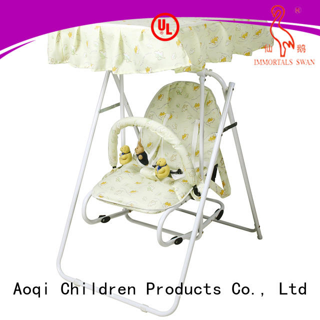 Aoqi Brand multi-colors safe toys baby swing chair online