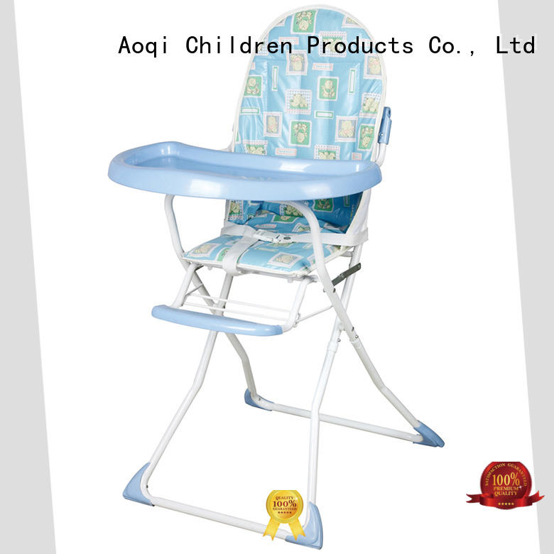 plastic folding baby high chair manufacturer for home