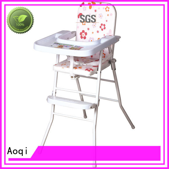 Aoqi plastic cheap baby high chair manufacturer for livingroom