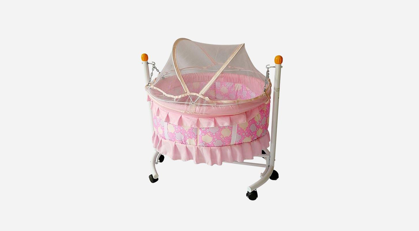 2018 New round shape portable baby swing bed B10-1