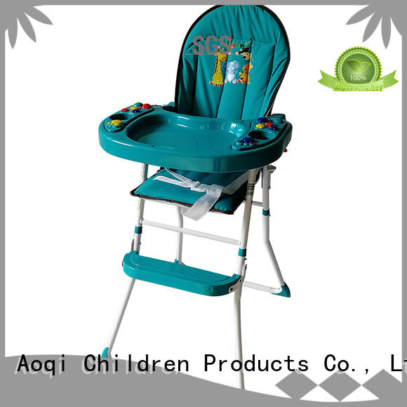 Aoqi Brand eating special high chair price safe supplier