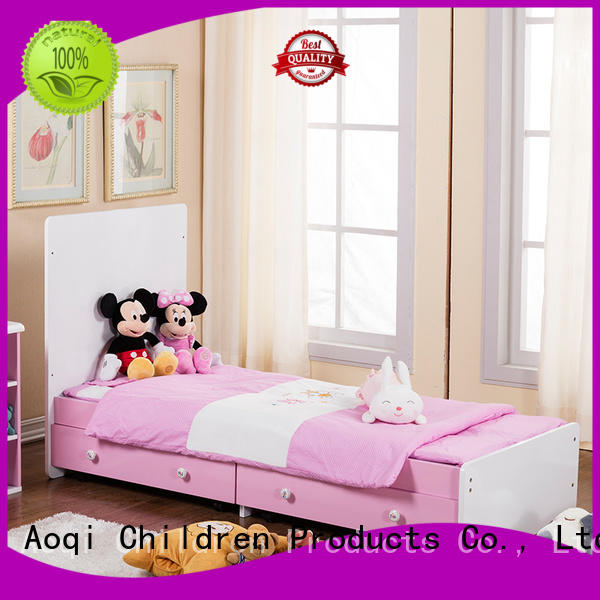 baby cots and cribs metal braking baby crib online Aoqi Brand