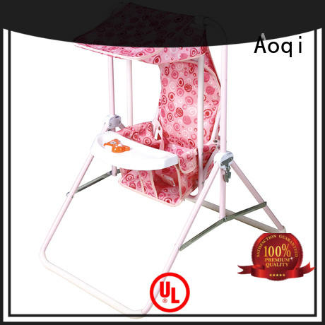 Aoqi standard baby musical swing chair design for babys room