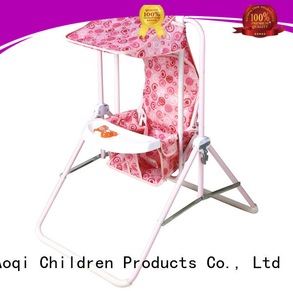 Quality Aoqi Brand bouncer foldable cheap baby swings for sale