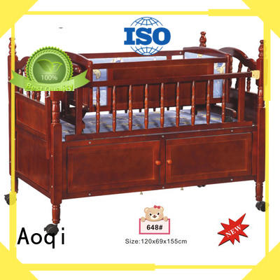 Aoqi portable cheap baby cots for sale directly sale for household