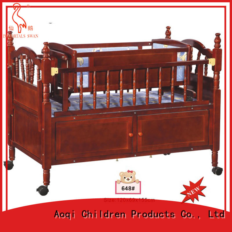 multifunction wooden baby crib for sale directly sale for household